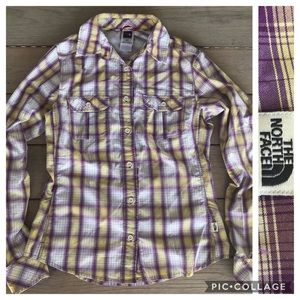 The North Face Plaid UPF Shirt XS